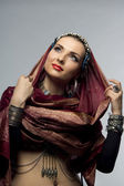 Oriental woman — Stock Photo