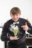 Attributes of good barman — Stock Photo