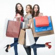 Girl and shopping — Stock Photo #49340183