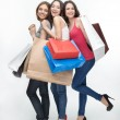 Girl and shopping — Stock Photo #49340287
