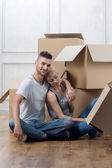 Removal is not easy thing — Stockfoto