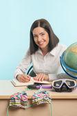 Biznes kobieta ze świata — Zdjęcie stockowe