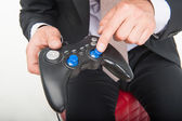 Man and gaming — Stock Photo