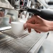 Barista and coffee machine — Stock Photo #51390217