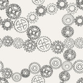 Abstract gears — Stock Vector