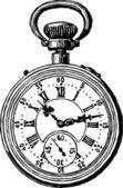 Orologio da tasca antico — Vettoriale Stock