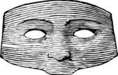 Vintage maske — Stockvektor