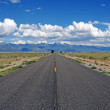 Driving into the Rocky Mountains — Stock Photo #43451247