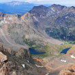 Panorama of Summit view from Mount Sneffels, Rocky Mountains, Colorado, USA — Stock Photo #43453463