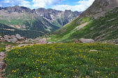 Montañas del san juan colorado, montañas rocosas, estados unidos — Foto de Stock