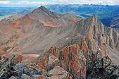 View of Wilson Peak from Summit of Mount Wilson, Rocky Mountains — Stock Photo