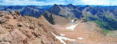 Summit View Overlooking Chicago Basin, San Juan Range, Rocky Mountains, Colorado, USA — Stock Photo