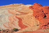 Kırmızı manzara, güneybatı Abd — Stok fotoğraf