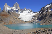 Fitz Roy Massif, Patagonia, Argentina — Stock Photo
