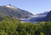Пейзаж в пустыне на Аляске — Стоковое фото