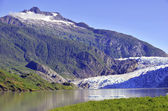 Ghiacciaio mendenhall, tongass national forest, alaska — Foto Stock