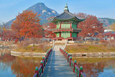 Gyeongbokgung Palace, Seoul, South Korea — Stock Photo