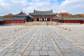 Traditional Architecture in Changgyeonggung Palace, Seoul, South Korea — Stock Photo