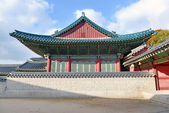 Traditional Architecture in Seoul, South Korea — Stock Photo
