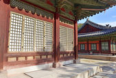 Traditional Architecture in Changyeonggung Palace in Seoul, South Korea — Stock Photo