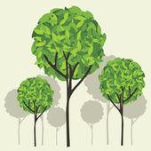 Tree vector Eps10 — Stock Vector
