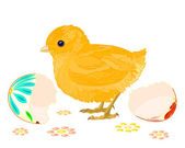 Easter chick — Wektor stockowy