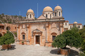 Agia Triada Monastery (Agia Triada Tsangarolon). Crete. Greece — Stock Photo