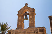 The bell of the old village Church. Greece. Crete — Foto de Stock