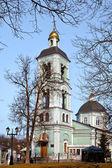 """Homestead """"tsaritsyno"""". la iglesia de la santísima virgen — Foto de Stock"""