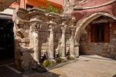 The Rimondi fountain in Rethymno. Greece. Crete — Stock Photo