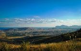 山和海风景 — 图库照片