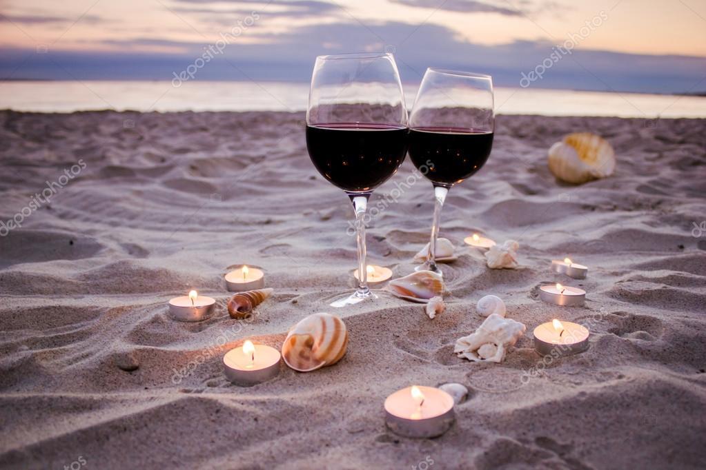 вечер вино фото