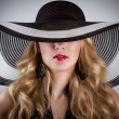 Woman in hat — Stock Photo #45980753