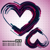 Hearts element — Stock Vector