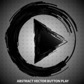 Tlačítko přehrát — Stock vektor