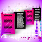 Abstract infographics  card — Vettoriale Stock