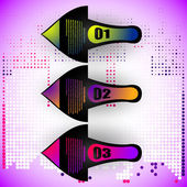 Pfeile elemente - business icons sammlung — Stockvektor