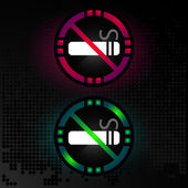 Icon no smoking — Vector de stock