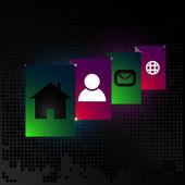 декоративный дизайн элемент абстрактный веб-сайт — Cтоковый вектор