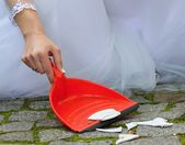 Wedding shards — Stock Photo