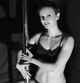 Pole dance — Stock Photo