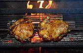 Barbecue chicken — Stock Photo