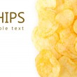 Potato chips background — Stock Photo #45169659