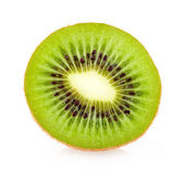 Kiwi cross section — Stock Photo