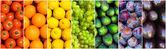 Fruit rainbow — Stock Photo