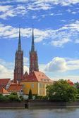 Katedra we Wrocławiu — Zdjęcie stockowe