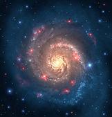 Far galaxy — Stock Photo