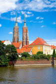 Wrocław domkyrka — Stockfoto