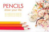 Color pencils — Fotografia Stock