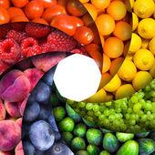 Fruit backgrounds — Stock Photo